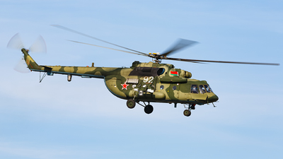92 - Mil Mi-8MTV-5 Hip - Belarus - Air Force
