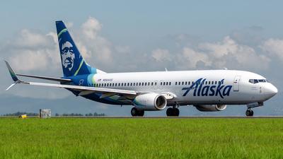 A picture of N564AS - Boeing 737890 - Alaska Airlines - © Dennis Alvarado