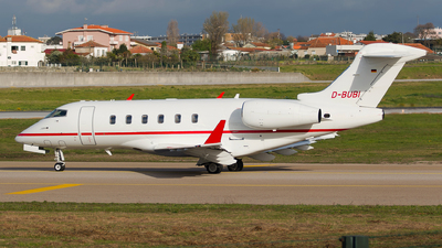 D-BUBI - Bombardier BD-100-1A10 Challenger 300 - Triple Alpha Luftfahrt