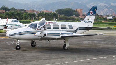 HK-5121 - Piper PA-31-350 Navajo Chieftain - AeroPaca