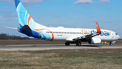 A picture of A6FEO - Boeing 7378KN - FlyDubai - © Marin Ghe.