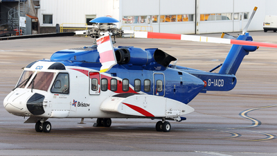 A picture of GIACD - Sikorsky S92A Helibus - Bristow Helicopters - © R.Rimestad