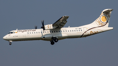 A picture of XYAMJ - ATR 72600 - Myanmar National Airlines - © Gerrit Griem