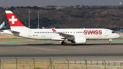 HB-JCF - Bombardier CSeries CS300 - Swiss