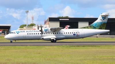 F-OMRU - ATR 72-212A(500) - Air Austral