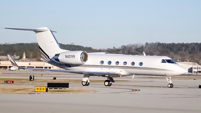 N401VR - Gulfstream G-IV - Private