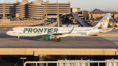 N704FR - Airbus A321-211 - Frontier Airlines
