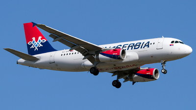 A picture of YUAPI - Airbus A319132 - AirSERBIA - © Turkay Oksuz