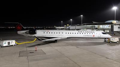 A picture of CGDJZ - Mitsubishi CRJ900LR - Air Canada - © Bharath Manvi
