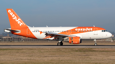 A picture of GEZAI - Airbus A319111 - easyJet - © Medolago Manuel