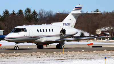 N985CE - Raytheon Hawker 800XP - Private