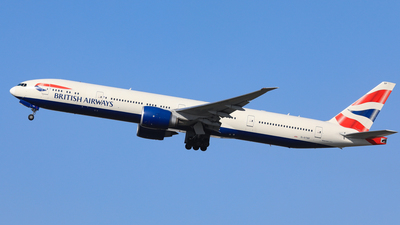 G-STBF - Boeing 777-336ER - British Airways