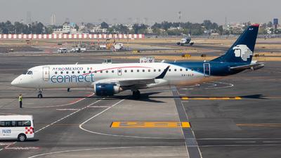 A picture of XAALP - Embraer E190LR - Aeromexico Connect - © Santiago_MN