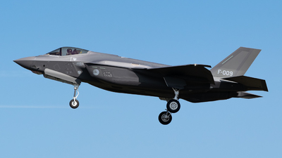 F-009 - Lockheed Martin F-35A Lightning II - Netherlands - Royal Air Force