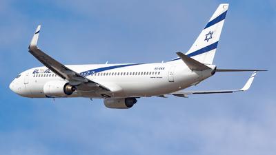 A picture of 4XEKB - Boeing 737858 - El Al - © Eyal Zarrad