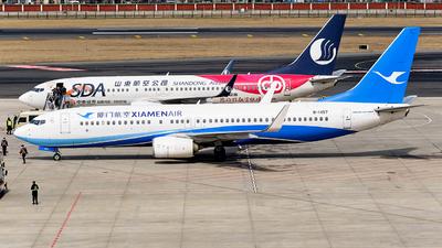 A picture of B1457 - Boeing 73785C - Xiamen Air - © MingyaoLeonardo