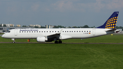 D-AEME - Embraer 190-200LR - Augsburg Airways