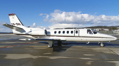 CS-DHL - Cessna 550B Citation Bravo - NetJets Europe
