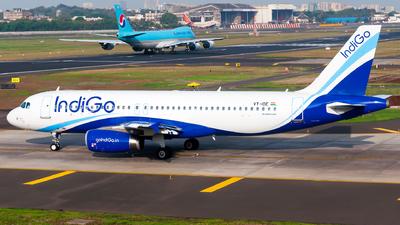 VT-IDE - Airbus A320-232 - IndiGo Airlines