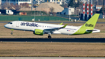 A picture of YLCSD - Airbus A220300 - Air Baltic - © JakkoFly