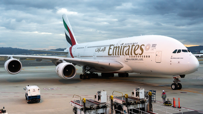 A picture of A6EEO - Airbus A380861 - Emirates - © JG-Ziro