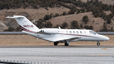 N851JB - Cessna 525A CitationJet CJ2 - Private