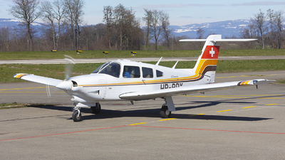 HB-PDX - Piper PA-28RT-201T Turbo Arrow IV - Aero Club - Montagnes Neuchâteloises