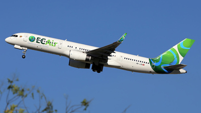 A picture of HBJJD - Boeing 757236 - [25807] - © wim callaert