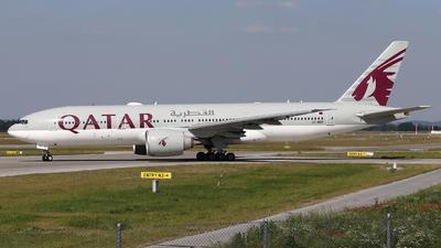 A7-BBF - Boeing 777-2DZLR - Qatar Airways