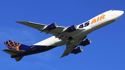 N855GT - Boeing 747-87UF - Atlas Air