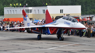 07 - Mikoyan-Gurevich MiG-29UB Fulcrum - Russia - Air Force