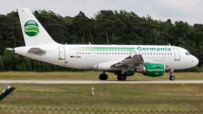 D-AHIL - Airbus A319-111 - Germania