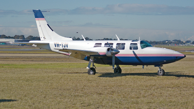 VH-TJV - Ted Smith Aerostar 601 - Private