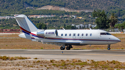 G-GCCM - Bombardier CL-600-2B16 Challenger 650 - Private