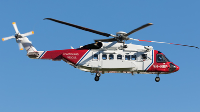 VH-NBP - Sikorsky S-92A Helibus - Bristow Helicopters