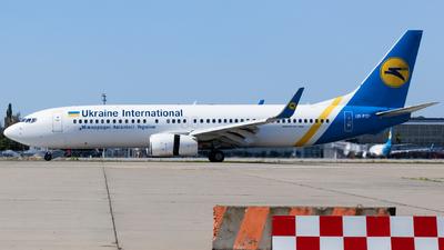 A picture of URPSP - Boeing 7378Q8 - Ukraine Int. Airlines - © Denis Kuzmenko