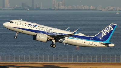 A picture of JA216A - Airbus A320271N - All Nippon Airways - © TATSU