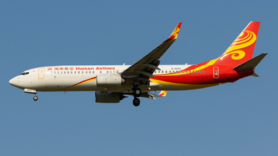 A picture of B5855 - Boeing 73784P - Hainan Airlines - © Aircraft carrier FX