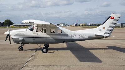 A picture of HBCHJ - Cessna P210N Pressurized Centurion - [P21000522] - © Bjorn van der Velpen