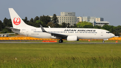 JA304J - Boeing 737-846 - Japan Airlines (JAL)
