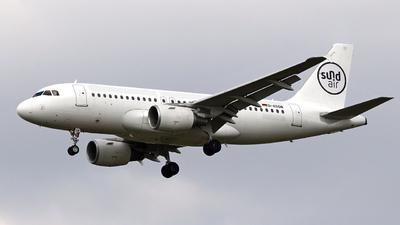D-ASSM - Airbus A319-112 - SundAir