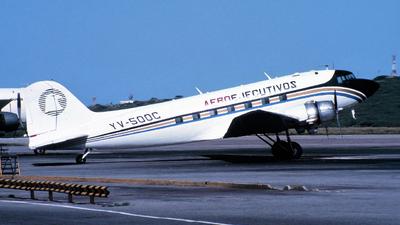 YV-500C - Douglas DC-3 - Aeroejecutivos