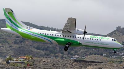 A picture of ECNJK - ATR 72600 - Binter Canarias - © Luis Rguez