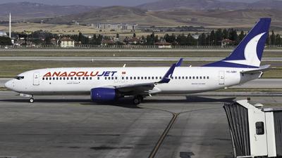 TC-SBV - Boeing 737-86N - AnadoluJet