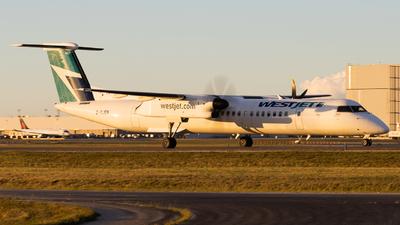 A picture of CGJEN - De Havilland Canada Dash 8400 - WestJet - © Shon Fridman