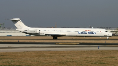 LZ-LDY - McDonnell Douglas MD-82 - Albanian Airlines (Bulgarian Air Charter)