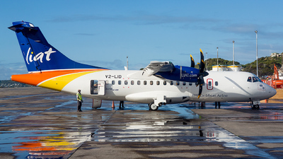 V2-LID - ATR 42-600 - Leeward Islands Air Transport (LIAT)