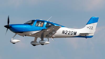 A picture of N22DM - Cirrus SR22 - [2886] - © A7-BAJ