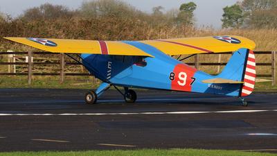 G-BJEV - Aeronca 11AC Chief - Private