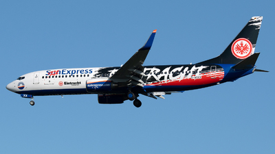 D-ASXX - Boeing 737-8AS - SunExpress Germany